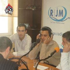מתראיין לרדיו היהודי במרסיי
